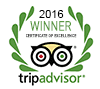 Trip advisor award 2016
