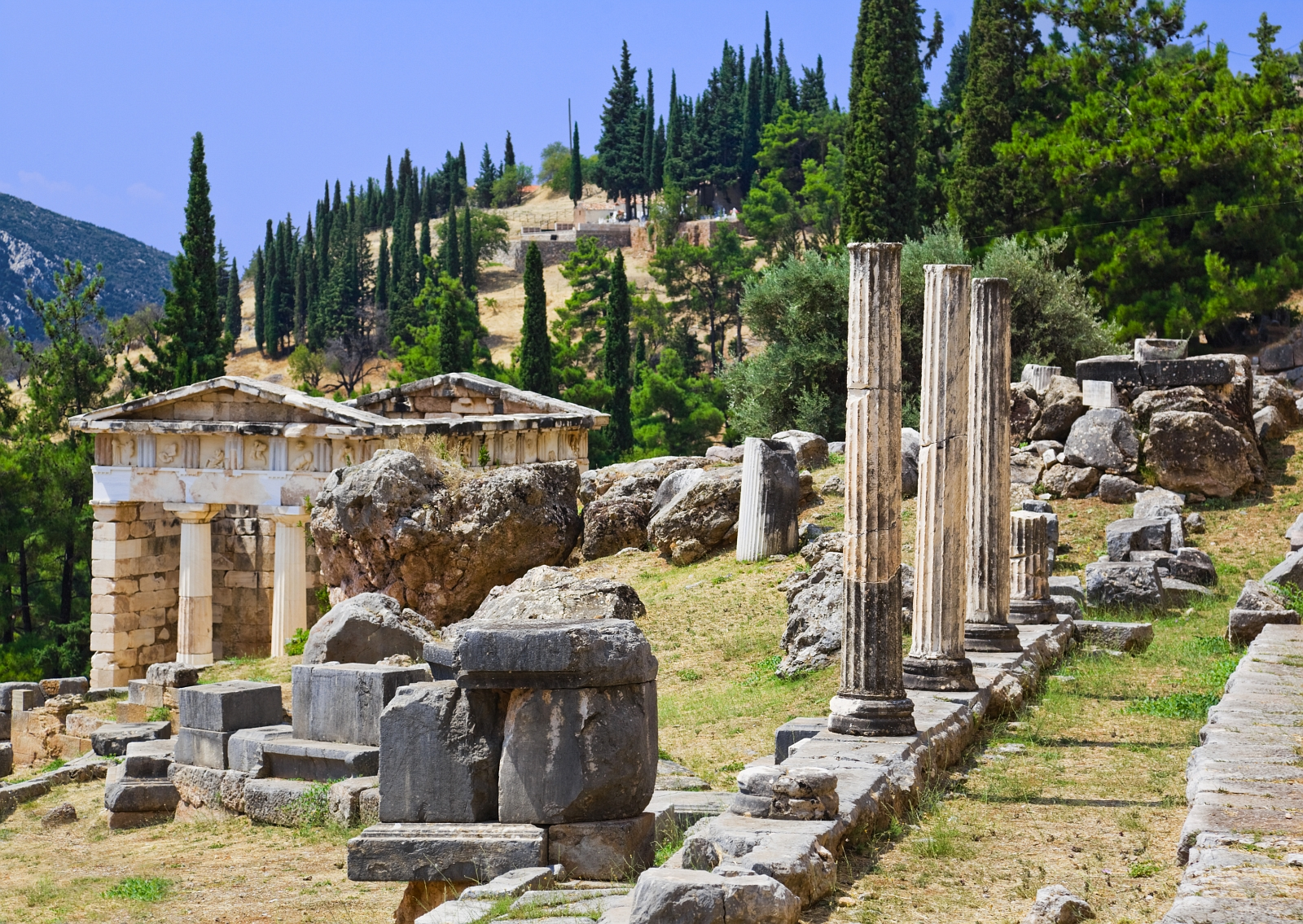 Delphi Day Tour Fantasy Travel Greece