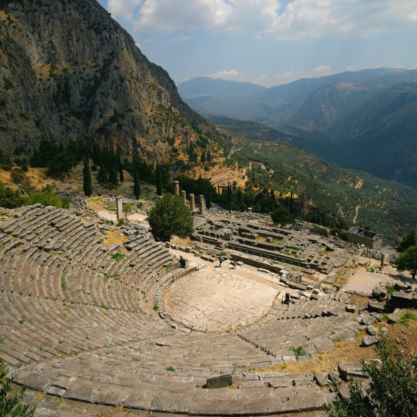 Journey To The Oracle Of Delphi And The Greek Islands