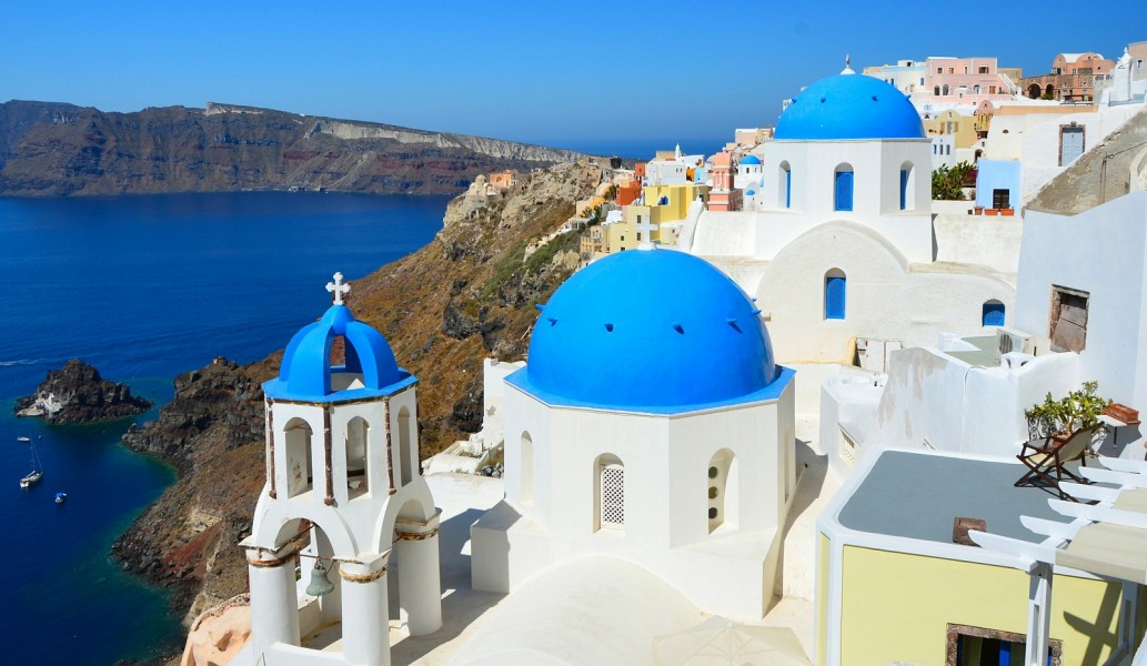 Athens Santorini Crete Rhodes Fantasy Travel Greece