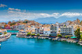 The Town of Agios Nikolaos in Crete