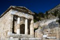 The Athenian Treasury, Delphi oracle