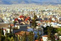 Panorama of Athens city