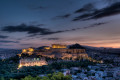 Athens Parthenon Acropolis at night