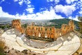 Athens odeon of herodes atticus ancient theater