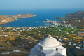 View of Chora in Serifos