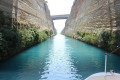 The Corinth Canal from below