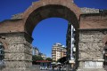 Arch of Galerius in Thessaloniki city, Greece