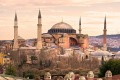 Hagia Sophia Mosque in Sultanahmet, Turkey