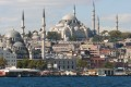 View of Blue Mosque from Bosphorus, Turkey