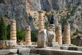 The remaining columns of the Temple of Apollo, Delphi