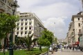 Picturesque streets of Thessaloniki city