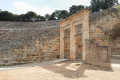 The famous theater at the Asklepieion of Epidaurus, the finest and most renowned of its kind