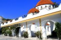 Greek Orthodox Monastery in Mytilene area, Lesvos island