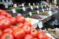 Tomatoes at the Athens Central Market