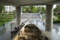 Entrance to the Acropolis Museum, Acropolis Museum tour