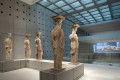 Caryatids in the Acropolis Museum, Athens