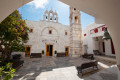 The monastery of Panagia Tourliani in Ano Mera, Mykonos island