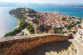 Nafplion from a high point of view