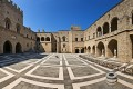 The Palace of the Grand Masters of the Knights, Rhodes island