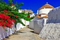 Traditional alley, Patmos island