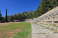 Ruins of the Stadium of Delphi, built in the 5th c. B.C.
