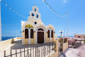 Traditional Orthodox church, Santorini island