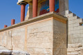 Knossos archaeological site, Crete island
