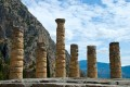 Columns of the Temple of Apollo, Delphi archaeological site