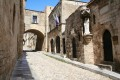The street of the knights, Rhodes island