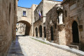 The Street of Knights in Old Town, Rhodes island
