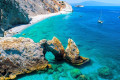 The secluded Lalaria beach in Skiathos