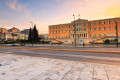 The Greek Parliament at Syntagma Square