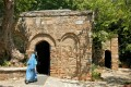The House of the Virgin Mary, a Catholic and Muslim shrine located on Mt. Koressos in the vicinity of Ephesus, Turkey