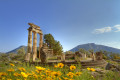 The tholos of the sanctuary of Athena Pronaia, Delphi