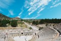 Amphitheater (Coliseum) in Ephesus, Turkey