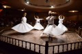 Ceremony of whirling dervishes in Turkey