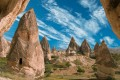 Rock formations of Cappadocia, Turkey