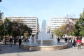 The fountain at Syntagma Square