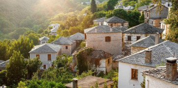 Picturesque shot of Pelion