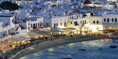 A view of Mykonos