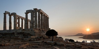 The Temple of Poseidon, God of the seas and father of Percy