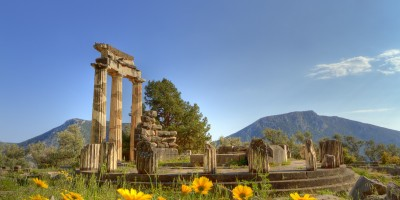 The Sanctuary of Athena Pronaia, Delphi