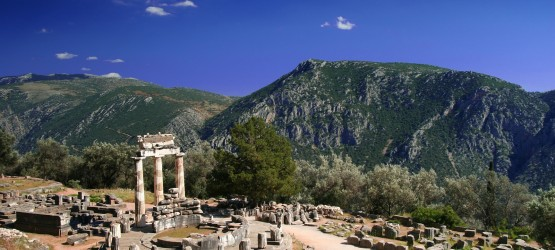 The Tholos of the Sanctuary of Athena Pronaia, Delphi sightseeing tour